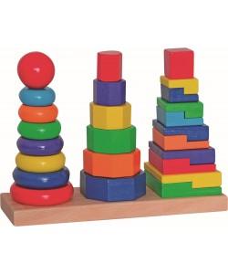 Woody - Set skládacích věží