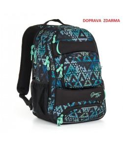 Studentský batoh Topgal HIT 888 E - Green
