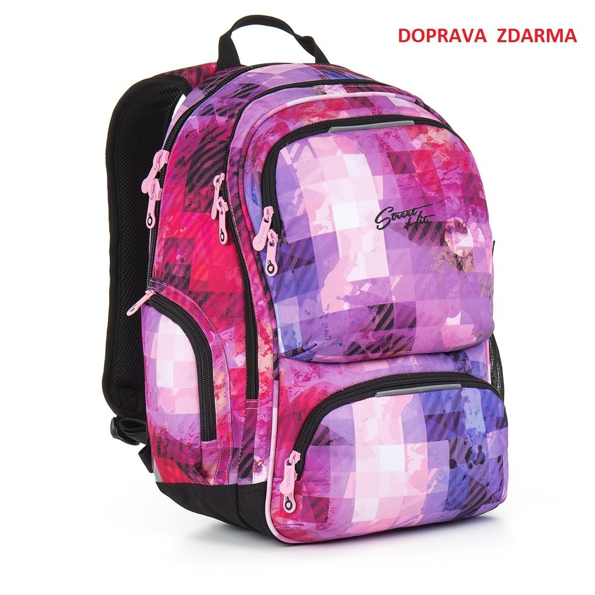 cda27e99231 Studentský batoh Topgal HIT 891 H - Pink - Macíčkovy hračky
