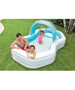 INTEX Nafukovací bazén Swim Center Cabana 310x188