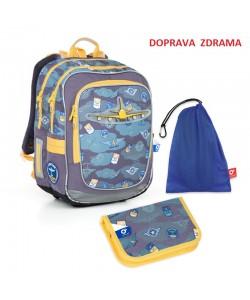 Školní batoh Topgal CHI 789 D SET MEDIUM