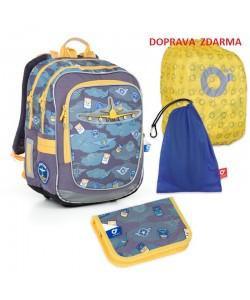 Školní batoh Topgal CHI 789 D SET LARGE