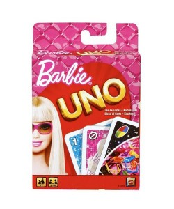 Mattel UNO karty Barbie