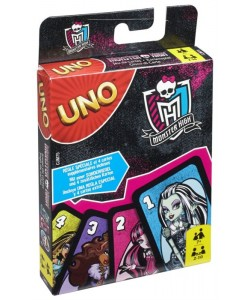 Mattel UNO karty Monster High