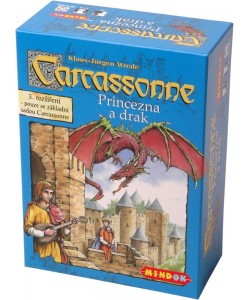 Mindok Carcassonne 3. rozšíření Princezna a drak