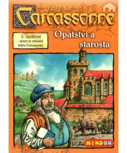 Mindok Carcassonne 5.rozšíření Opatství a starosta
