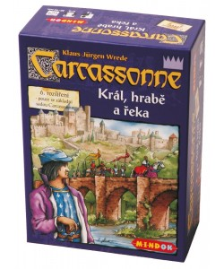 Mindok Carcassonne 6. rozšíření Král, hrabě a řeka