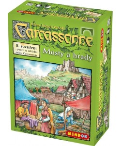Mindok Carcassonne 8. rozšíření Mosty a hrady