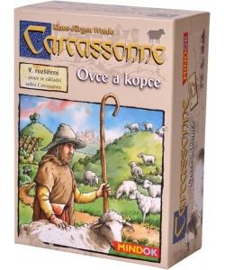 Mindok Carcassonne 9. rozšíření Ovce a kopce