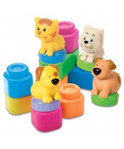 Clemmy Baby Zvířátka a barevné kostky