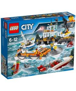LEGO® City 60167 Základna pobřežní hlídky
