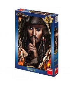 Dino Puzzle Piráti z Karibiku 5 KAPITÁN JACK 1000D