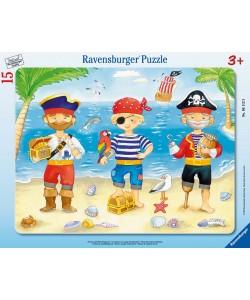 Ravensburger Puzzle Piráti a jejich poklad 15dílků