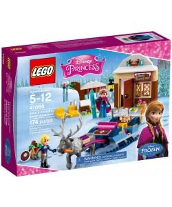 LEGO 41066 Dobrodružství na saních s Annou a Kris.