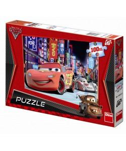 Dino Puzzle Auta 2, 100 XL dílků