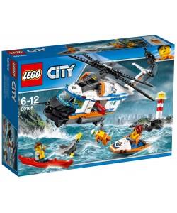 LEGO® City 60166 Výkonná záchranářská helikoptéra