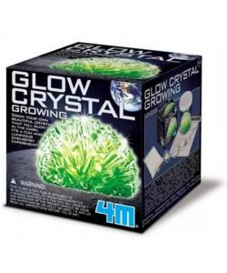 Svítící krystaly - pěstování