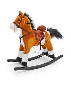 Houpací koník Milly Mally Mustang světle hnědý
